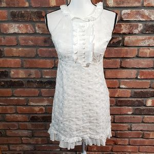 Lilly Pulitzer Embroidered Ruffle Shift Dress
